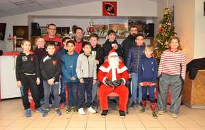 Noel 2018 du Racing Club Queyrannais