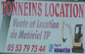 Tonneins Location